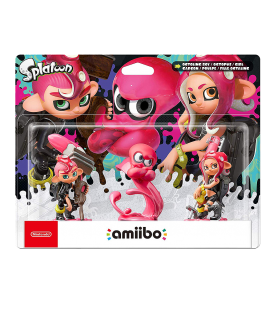 AMIIBO OCTOLING CHICO, CHICA PACK DE 3