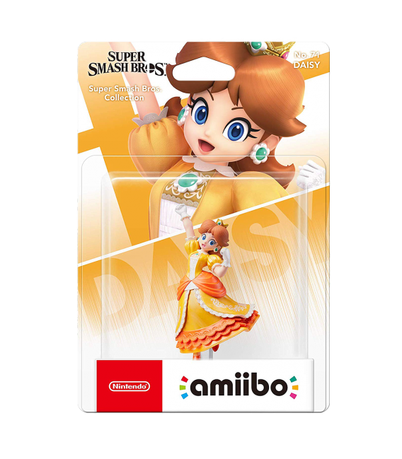 AMIIBO DAISY (COLECCION SUPER SMASH BROS)