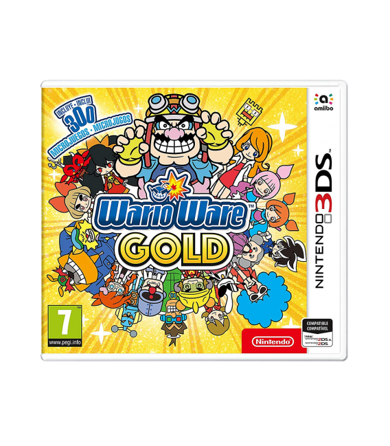 3DS WARIO WARE GOLD