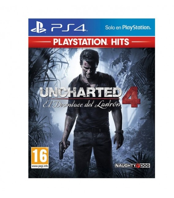 PS4 UNCHARTED 4: A THIEF