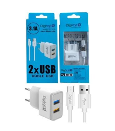 DIGIVOLT CARGADOR MICRO USB QC2429