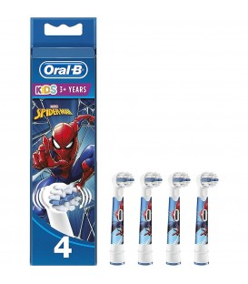 BRAUN RECAMBIO DENTAL CABEZAL EB104 SPIDERMAN