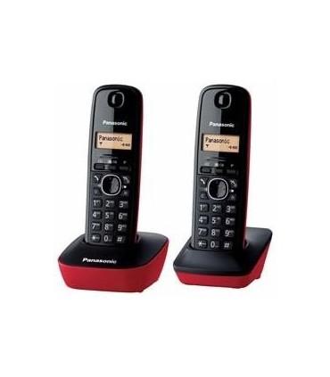 PANASONIC TELEFONO KXTG1612R ROJO