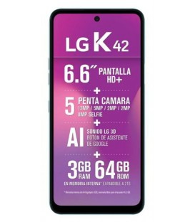 LG MOVIL K42 64GB BLUE
