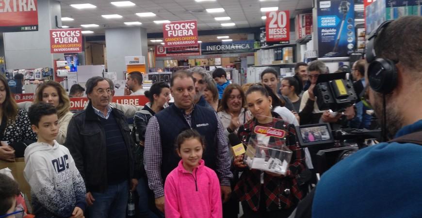 """Sorteo Lavadora por 1€ en colaboración con TVG y en especial el programa """"Aquí Galicia"""""""